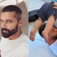 Ricky Martin presume cómo ha crecido su hijo Renn y sorprende con su parecido