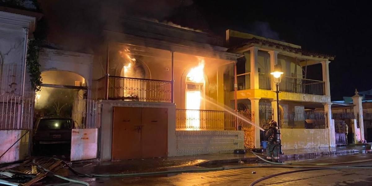 Activan ayuda para familia de Ponce que perdió todo en incendio esta madrugada