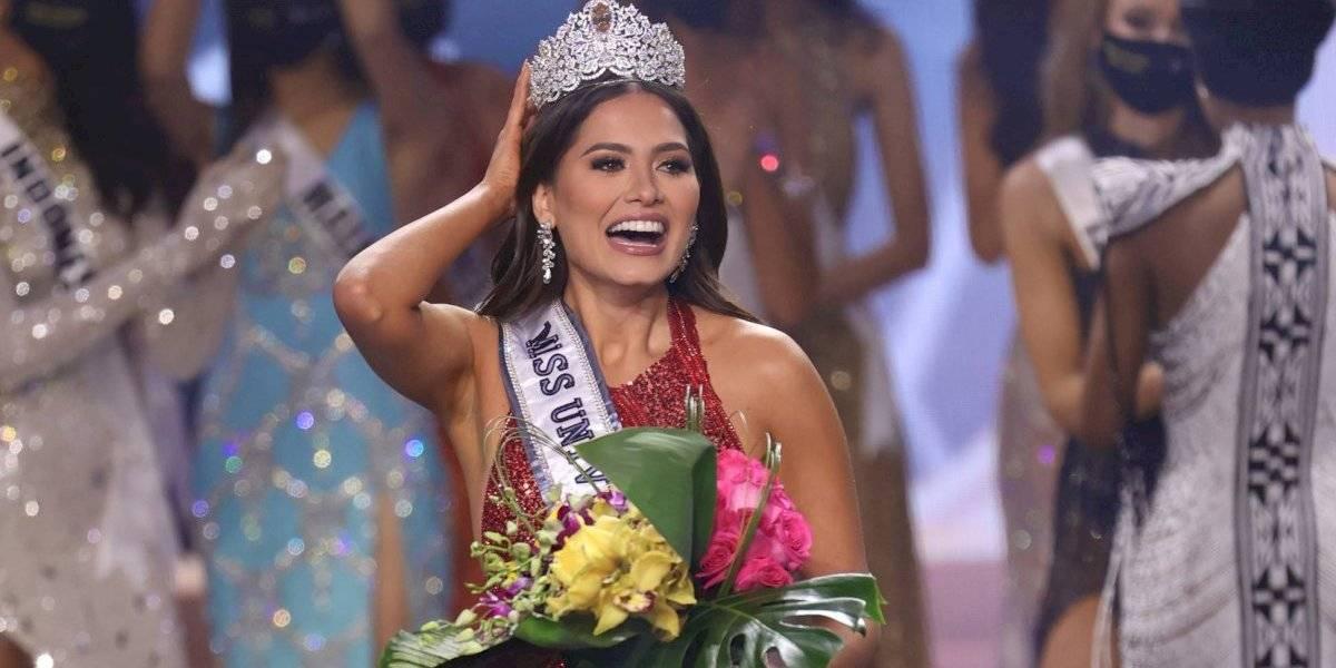 Ella es Andrea Meza, la mexicana que se coronó como Miss Universo 2021