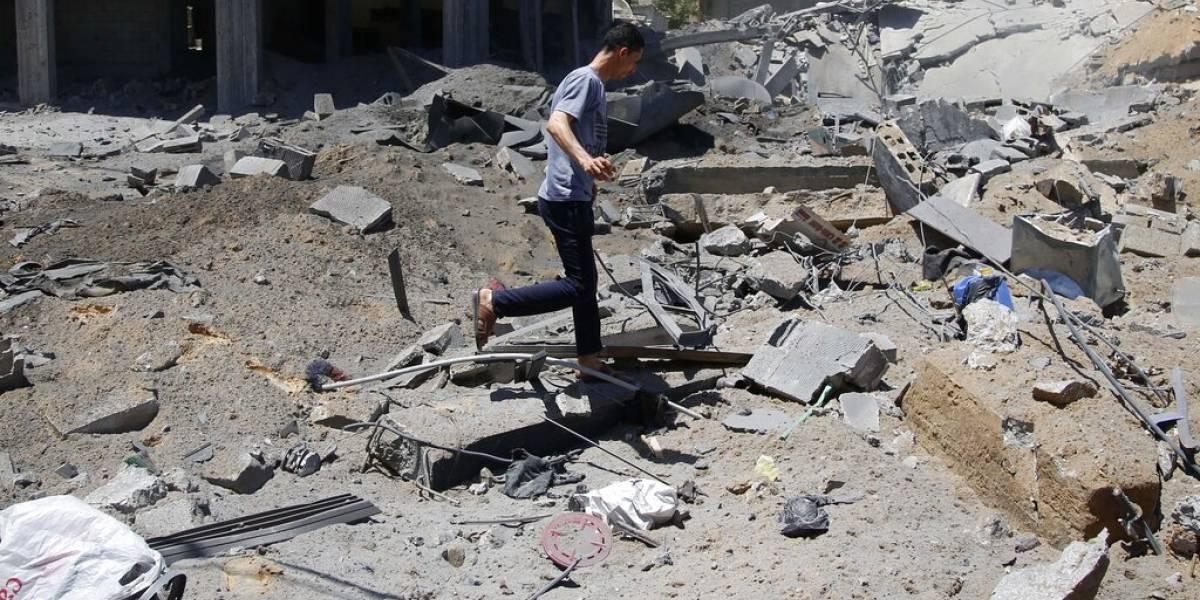 Mas de 38 mil personas desplazadas en Gaza y 2,500 sin hogar por ataques