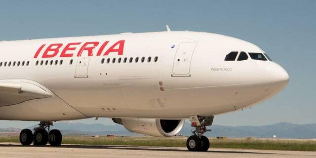 Iberia anuncia fecha para reinicio de sus vuelos directos entre San Juan y Madrid