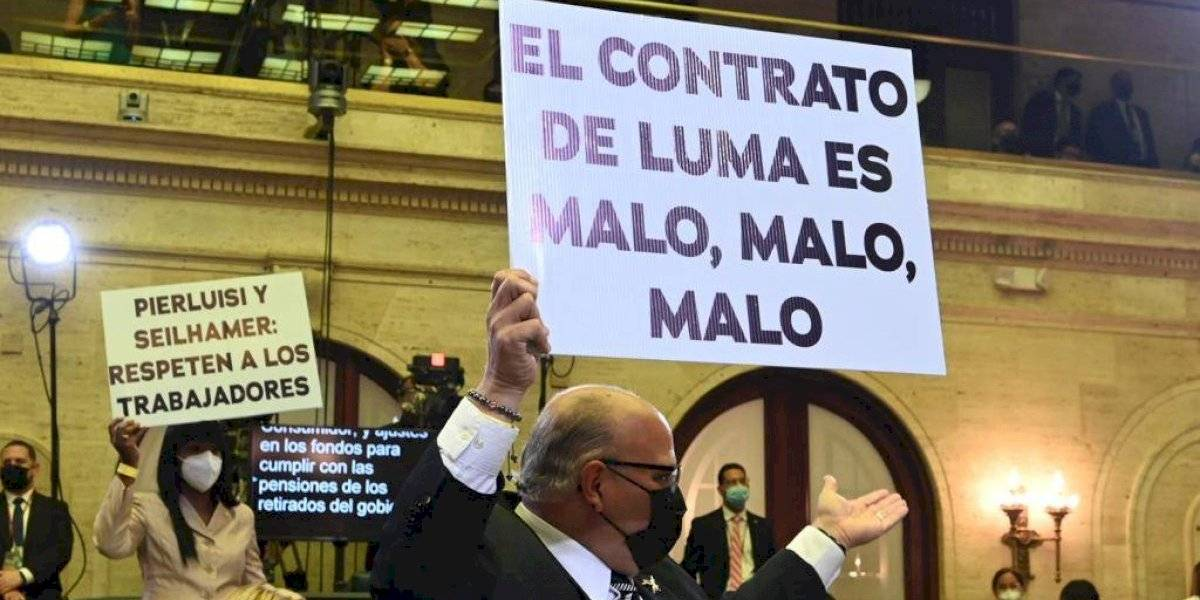 """""""Como un bizcocho mal hecho y dan ganas de ir al baño"""", así describe a Luma un integrante de la Junta de Gobierno AEE"""