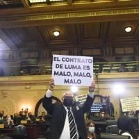 PNP critica pancartas de populares en mensaje de Pierluisi