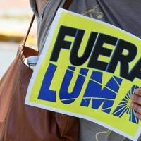Reportan varias manifestaciones contra LUMA alrededor de la isla