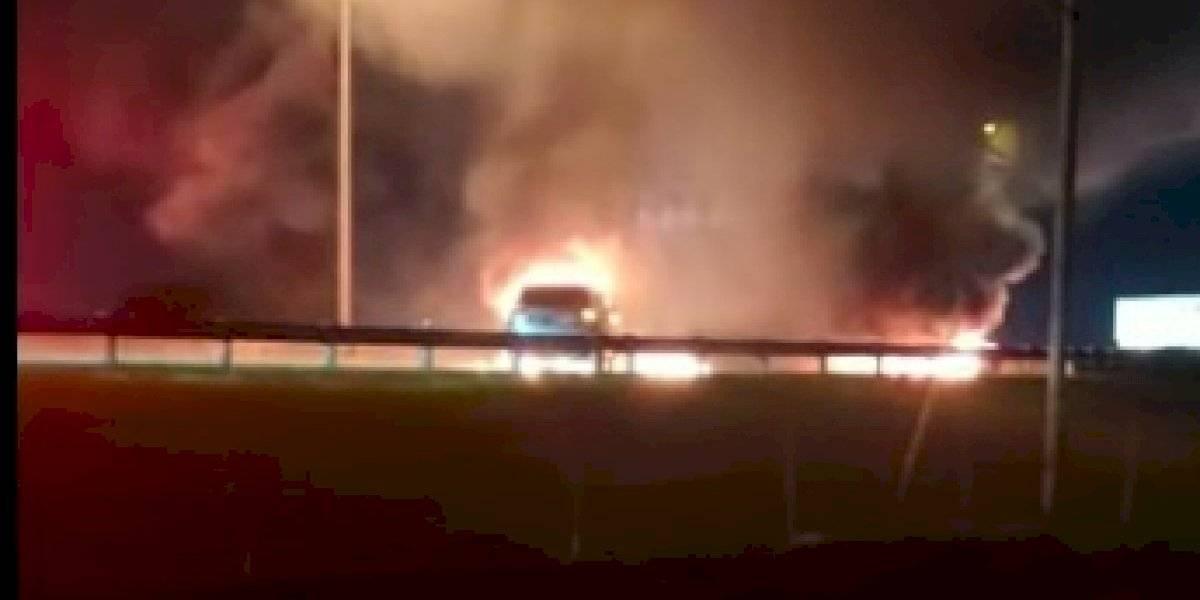Sufren quemaduras en el 50% del cuerpo tras aparatoso accidente en Caguas