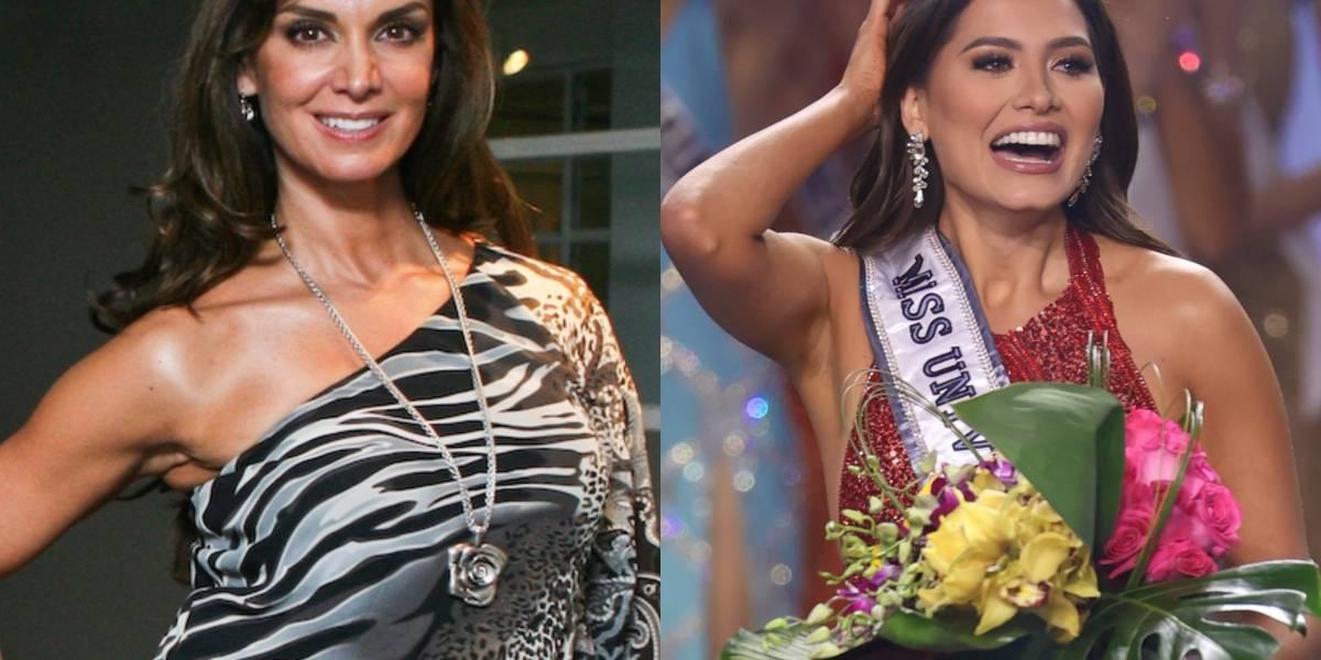 Lupita Jones habla de la preparación que tuvo Andrea Meza para ganar Miss Universo