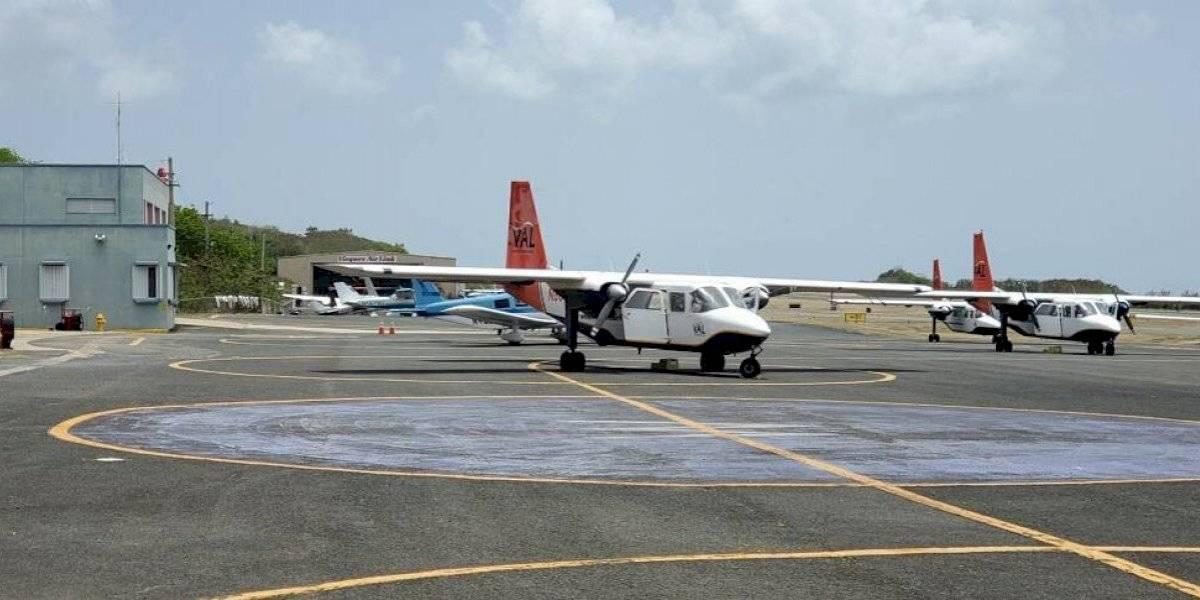 Comienzan reconstrucción de terminal y pista de aeropuerto de Vieques