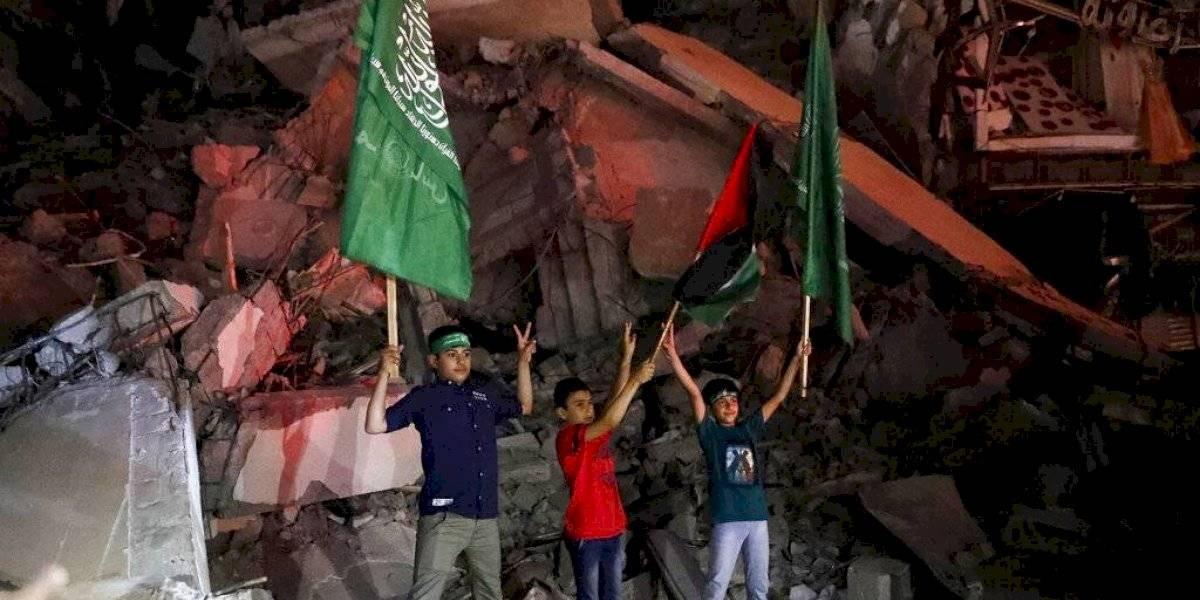 Palestinos consideran tregua con Israel una victoria
