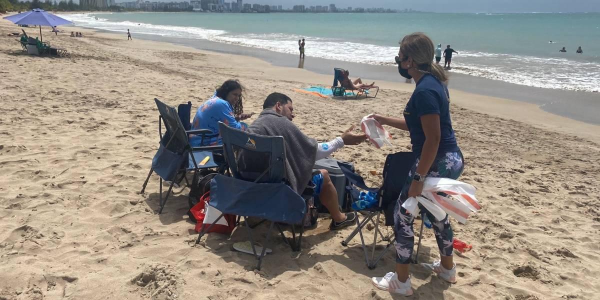 Jóvenes invitan a dejar limpias las playas en este verano