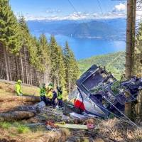 Italia investiga accidente de teleférico con 14 muertos
