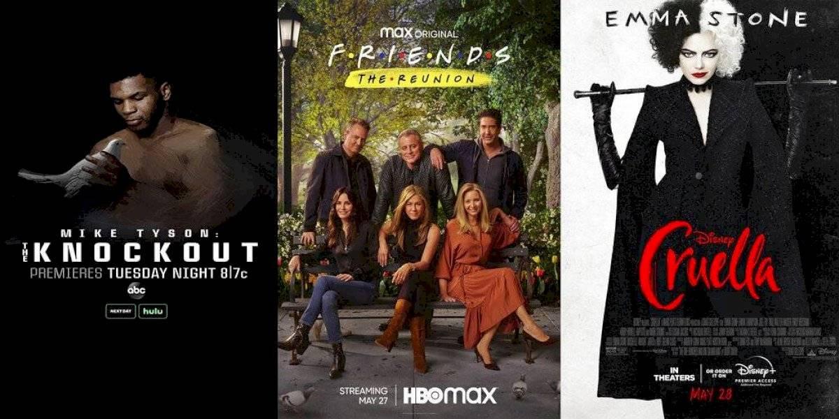 """Nuevo esta semana: """"Friends"""", Mike Tyson y """"Cruella"""""""