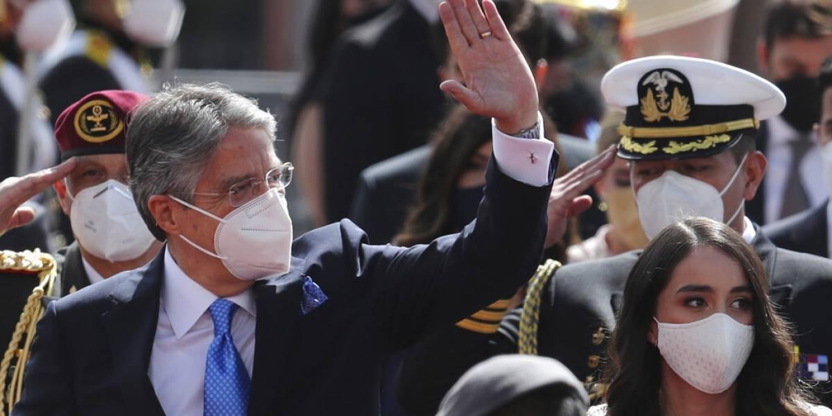 El conservador Guillermo Lasso asume las riendas del Ecuador