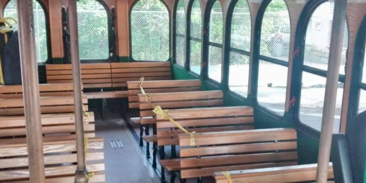 Restablecen el servicio de 'trolleys' en Fajardo