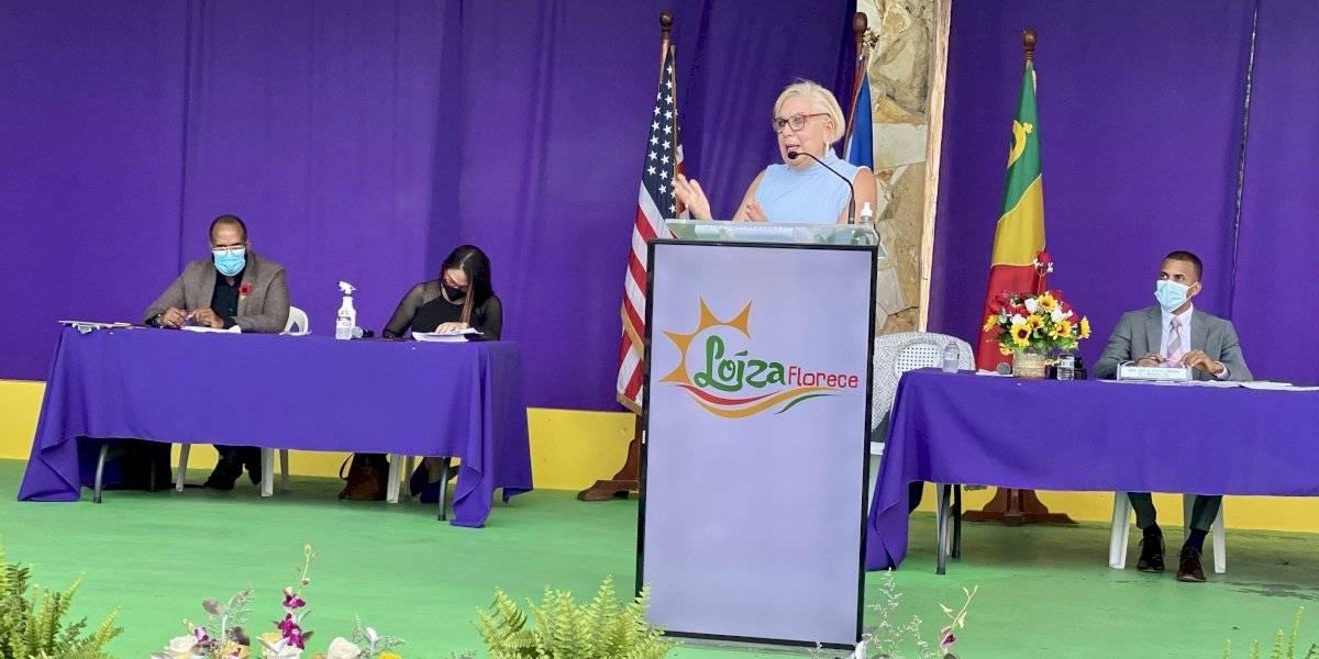 Alcaldesa anuncia que Loíza termina año fiscal con superávit