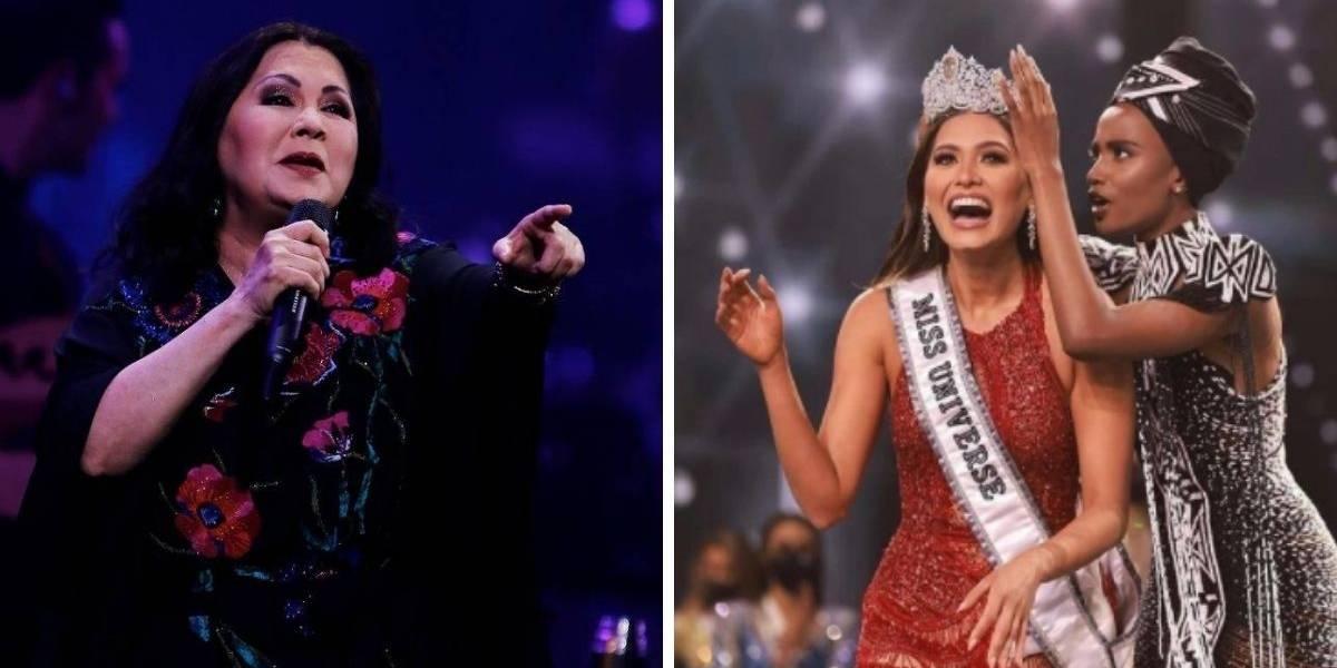 ¿Ana Gabriel es la verdadera madre de la nueva Miss Universo? Crece la polémica