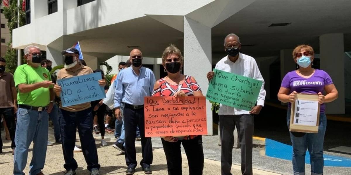 Ciudadanos exigen Negociado de Energía deniegue petición de exoneración responsabilidad de LUMA
