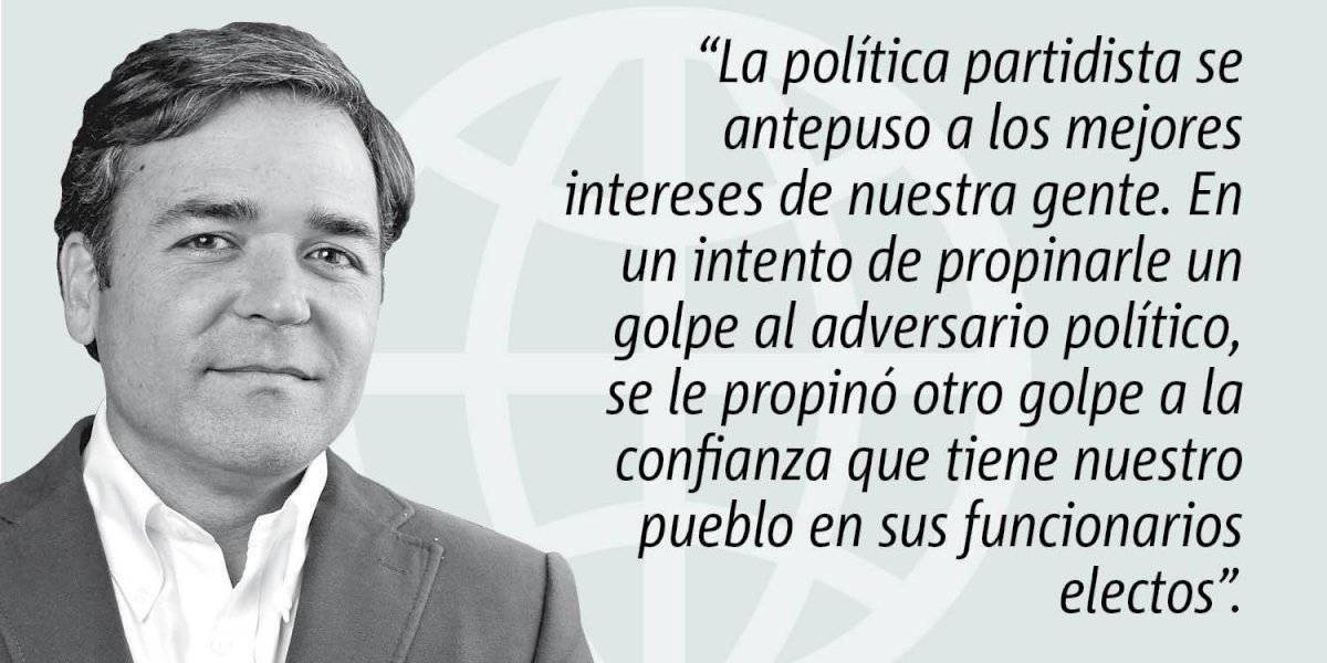 Opinión de Alejandro Figueroa: Abuso de poder que abona a la desconfianza