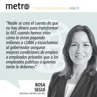Opinión de Rosa Seguí: ¡Fuera LUMA!