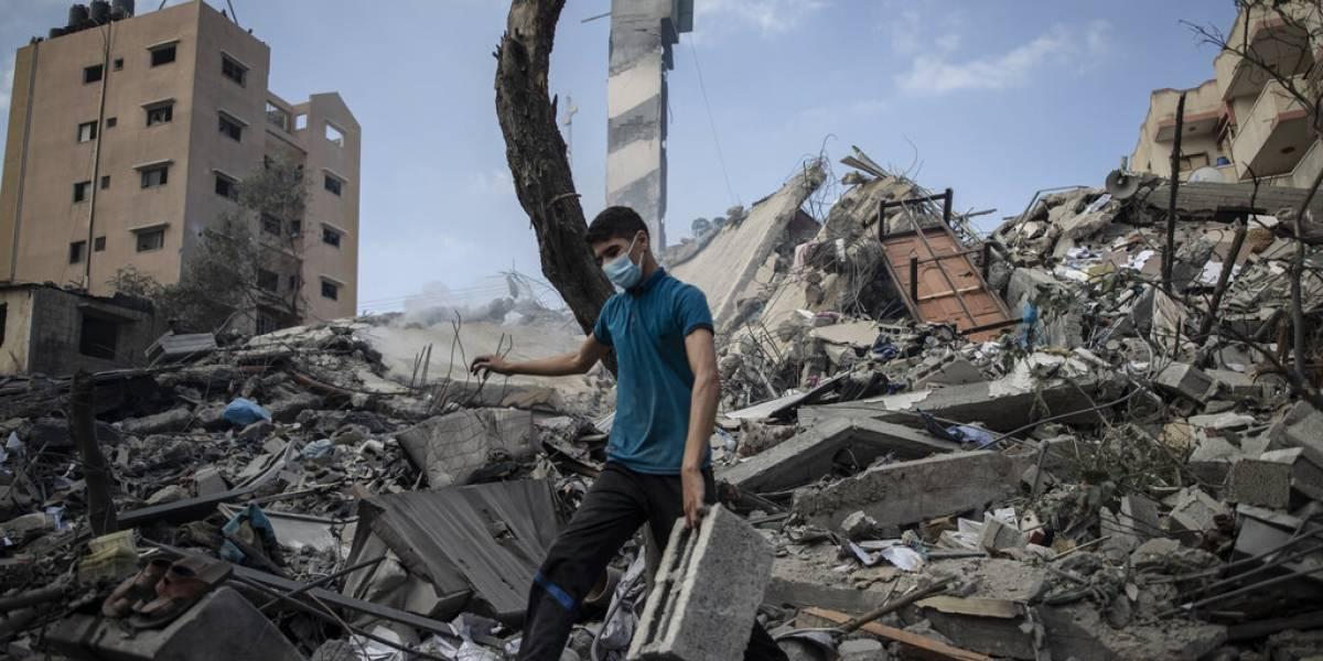 ONU pide $95 millones para ayuda humanitaria y labores de reconstrucción en Gaza