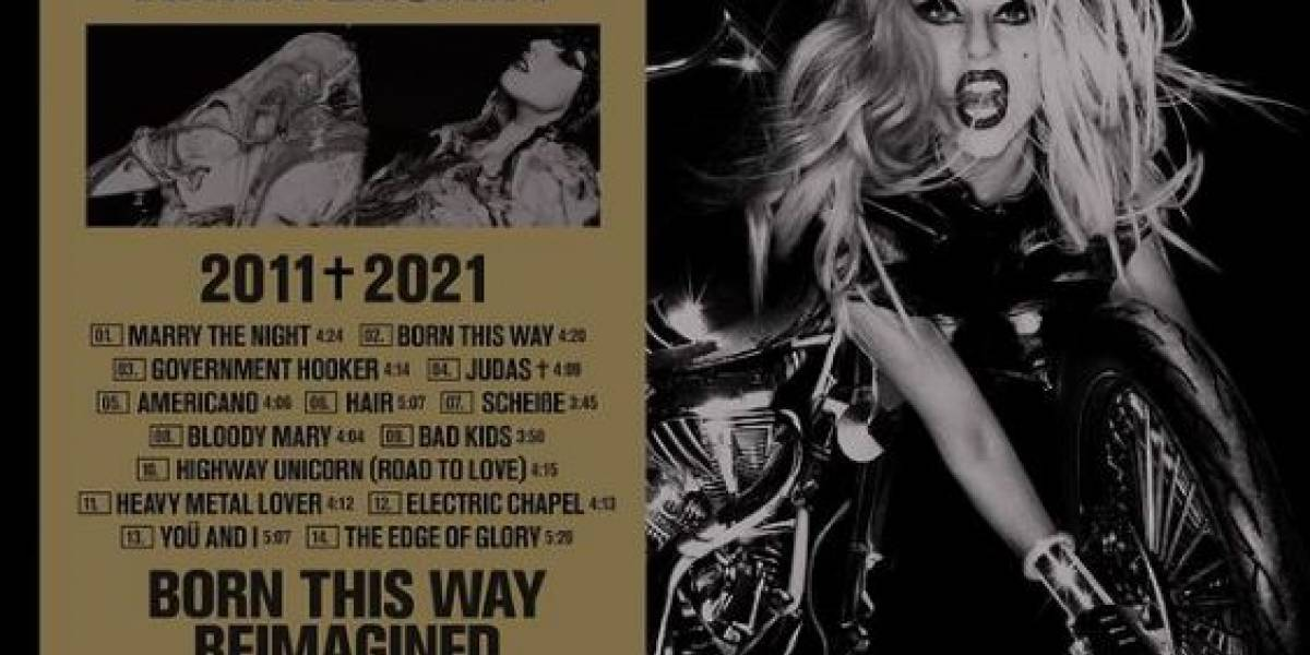 Lady Gaga lanzará 'Born This Way The Tenth Anniversary'
