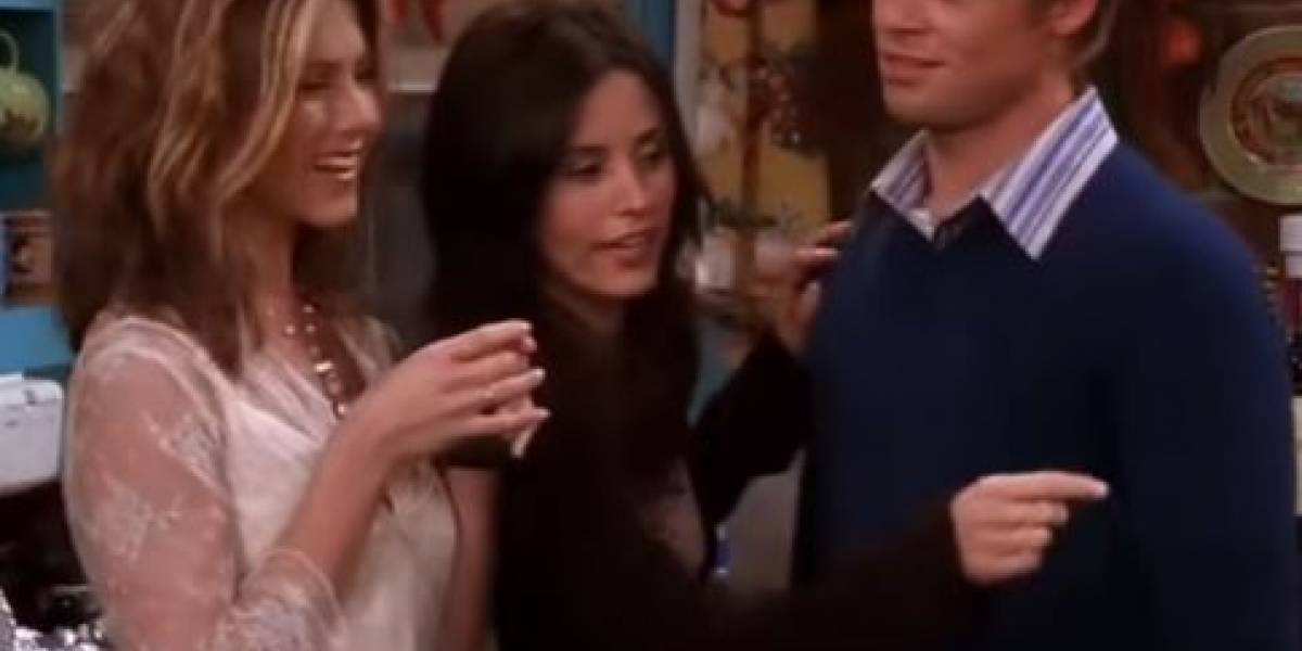 Brad Pitt en Friends fue el invitado favorito de Jennifer Aniston