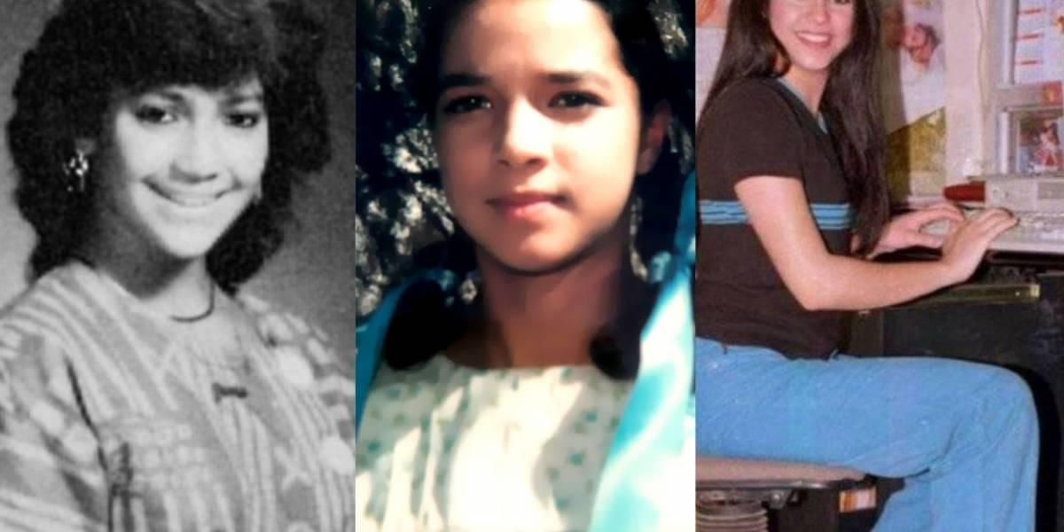Jennifer López, Adamari López, Shakira y las curiosas fotos de los famosos de jóvenes