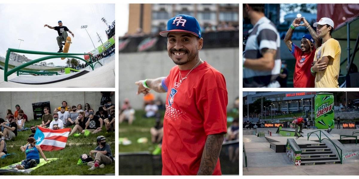 Skater boricua Manny Santiago clasifica para las Olimpiadas