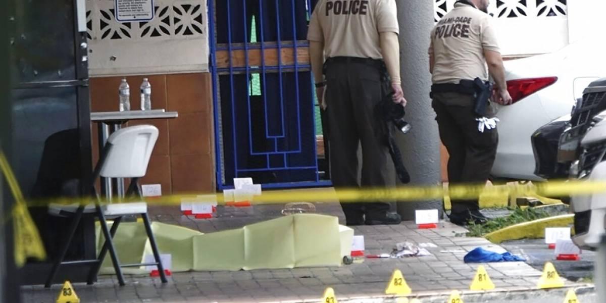 Ataques a tiros empañan fin de semana en sur de Florida