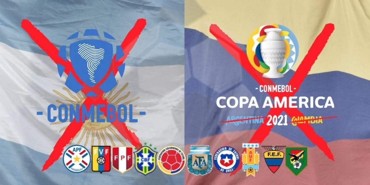 VIDEO   Oficialmente la Conmebol suspendió la Copa América ...