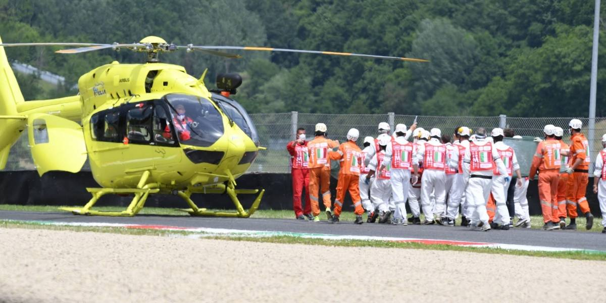 Fallece piloto tras trágico accidente en el Moto GP de Italia
