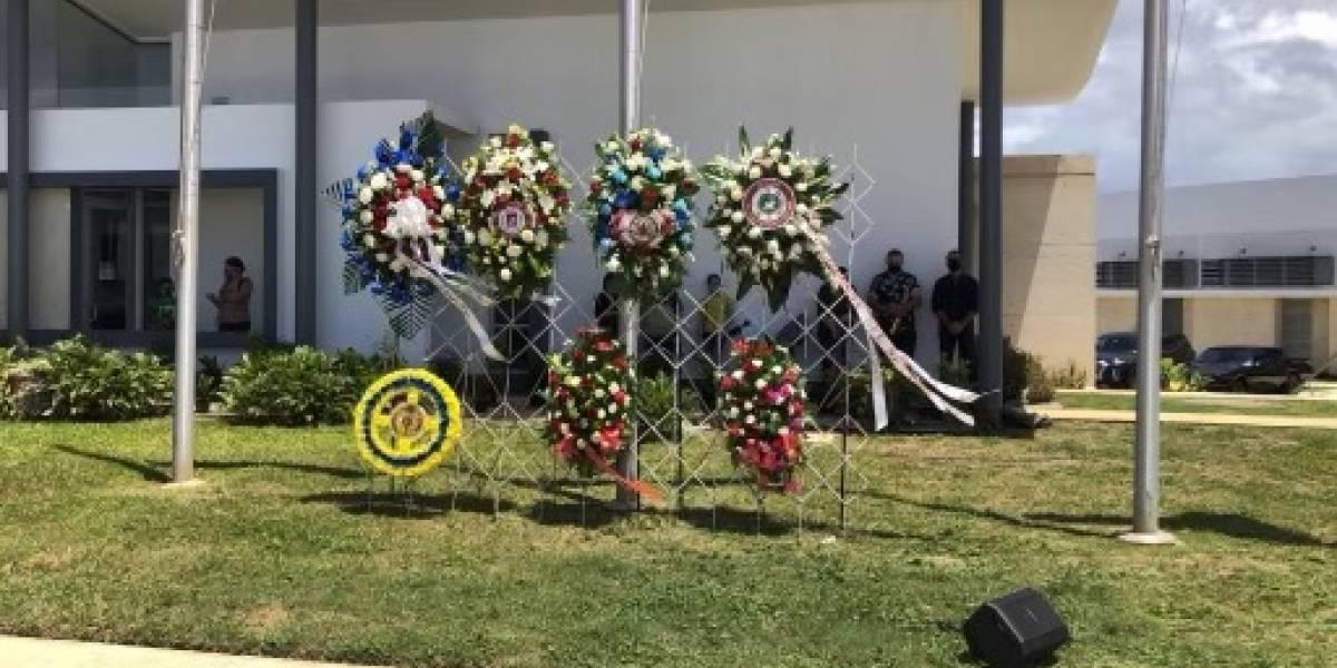 Realizan tributo de héroes en el Día de la Recordación