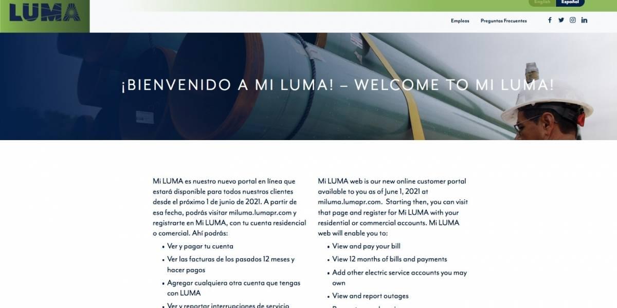 A horas de la transición de la AEE a LUMA, inhabilitan portal MiAEE para pago e impresión de facturas previas
