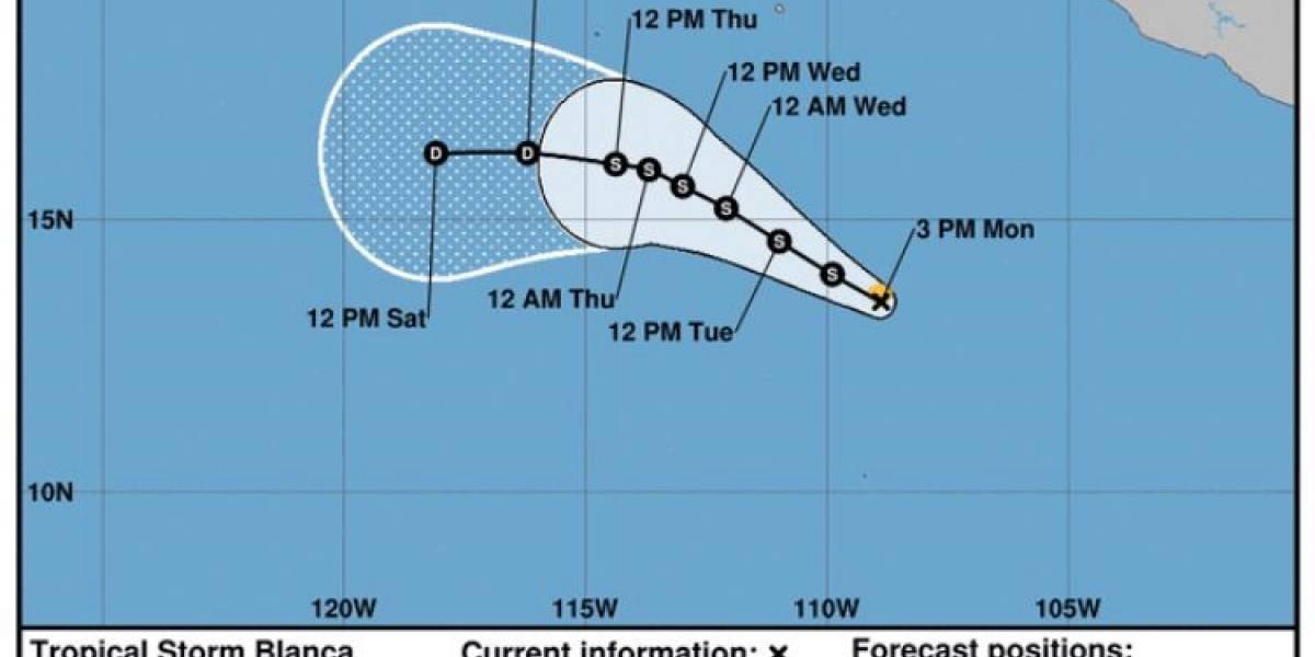 Se forma 2da tormenta tropical de temporada en Pacífico