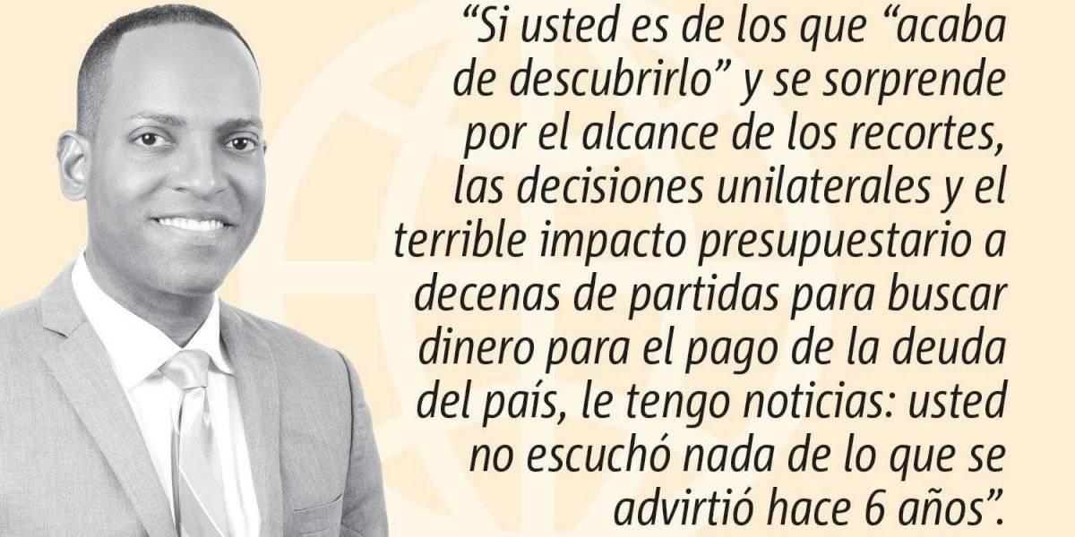 Opinión de Julio Rivera Saniel: Recursos naturales, ¿a la venta?