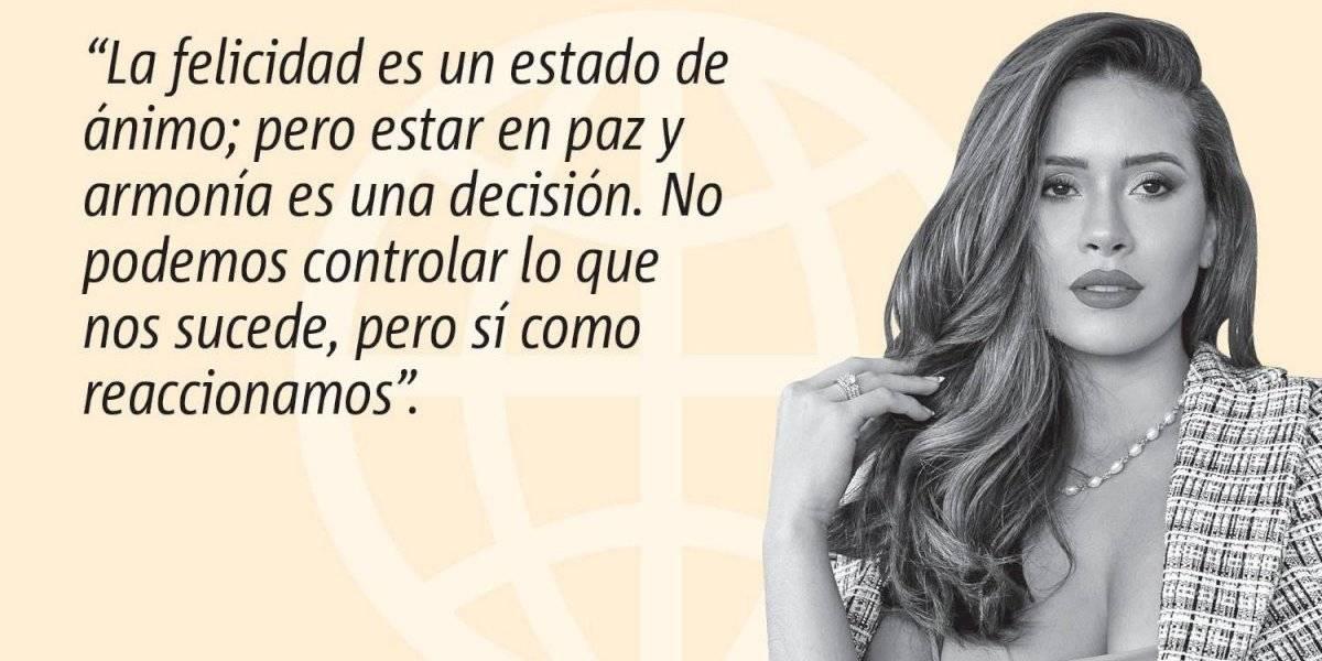 Opinión de Danna Hernández: ¿Eres feliz o sólo sonríes?