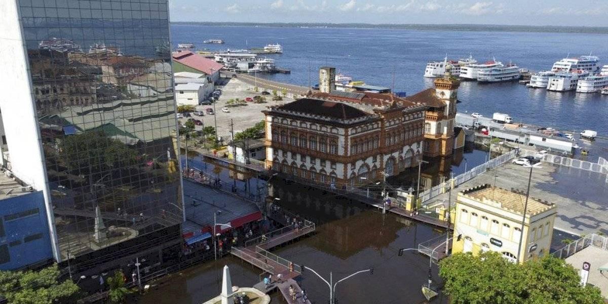 Inundaciones causan estragos en selva amazónica de Brasil