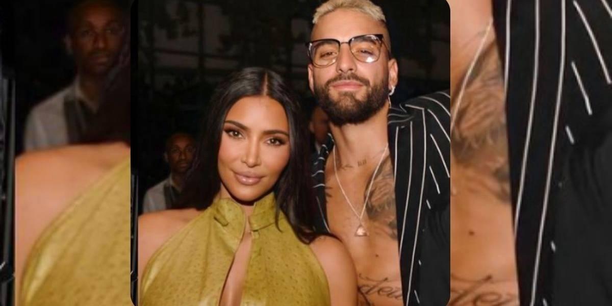 ¿Romance oculto? Maluma envía regalo especial a Kim Kardashian
