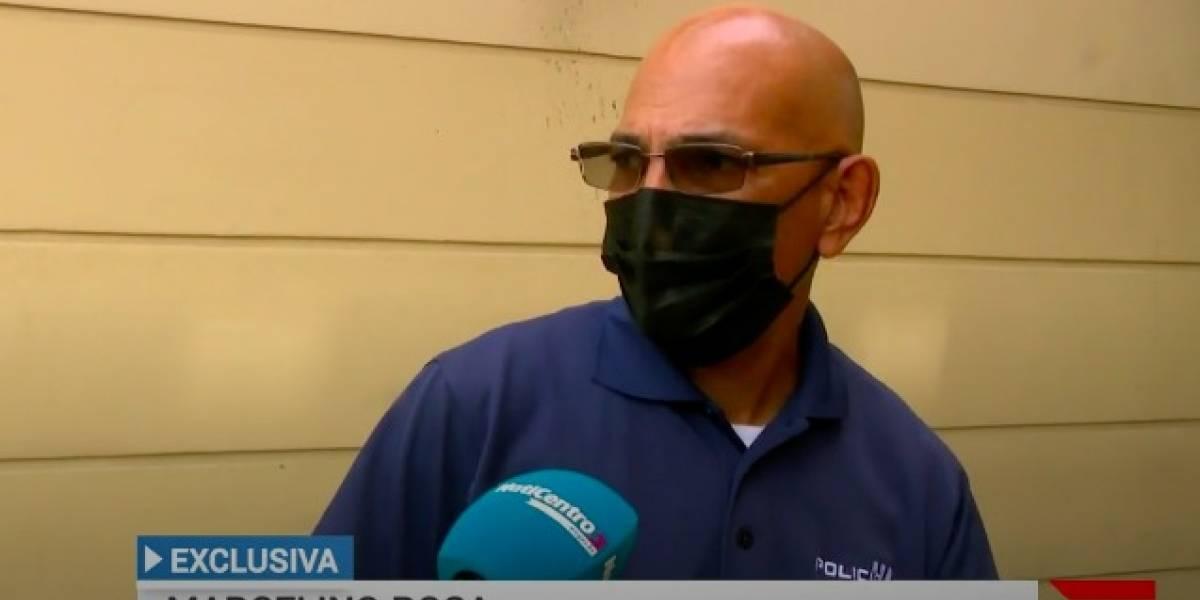 Sargento cuenta experiencia con turista que intentó estrangularlo en aeropuerto