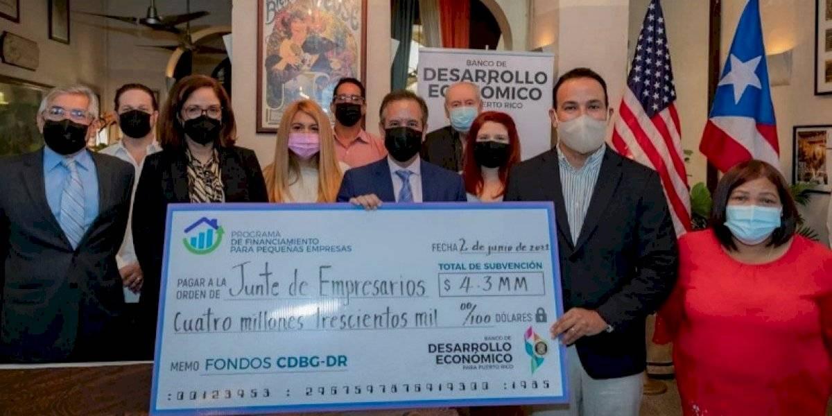 San Juan y Desarrollo Económico otorgan subvención federal millonaria para comerciantes