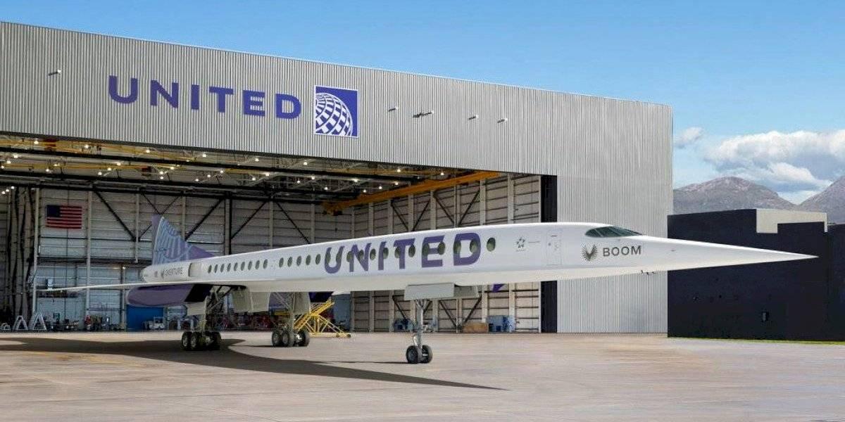 United Airlines aspira al regreso de los vuelos supersónicos