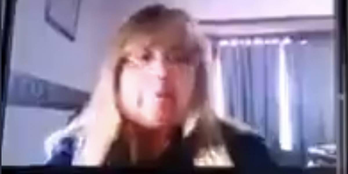 (VIDEO) Despiden a maestra que negó la existencia del COVID-19 en Argentina