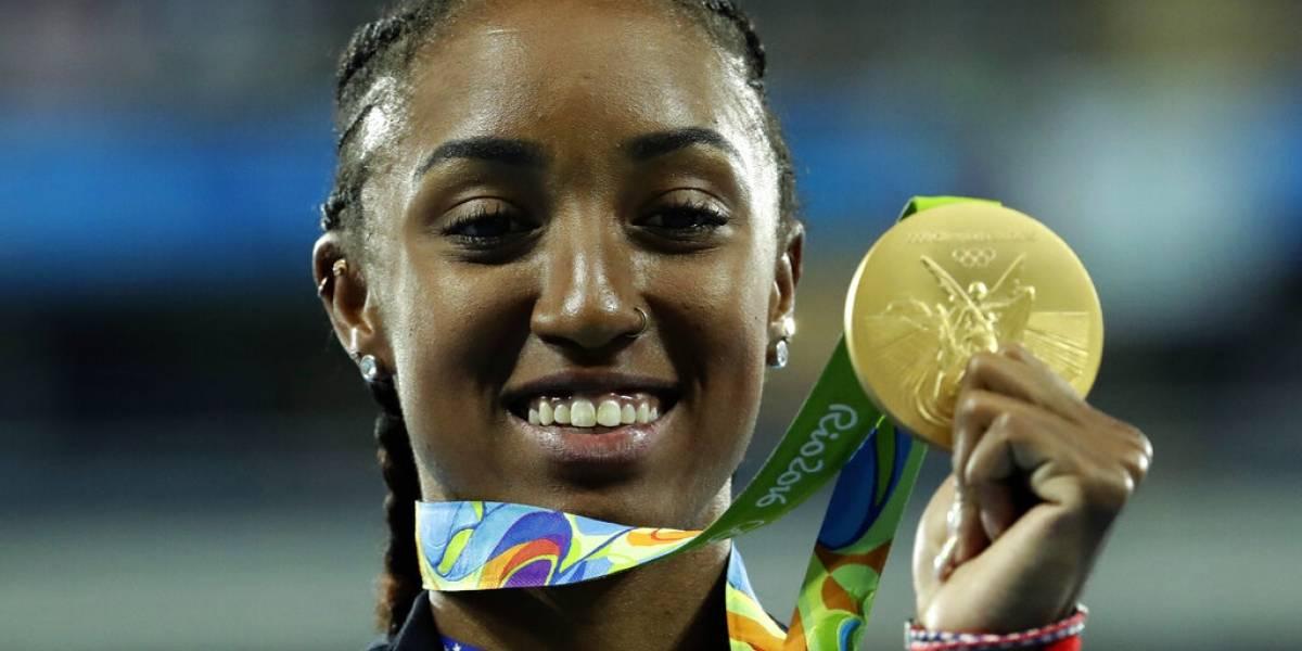 Suspenden por cinco años a campeona olímpica de EEUU por dopaje