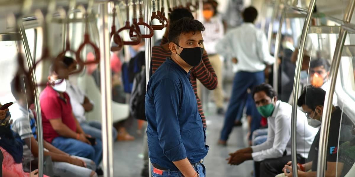 Variante india de coronavirus es un 50 por ciento más transmisible que la británica