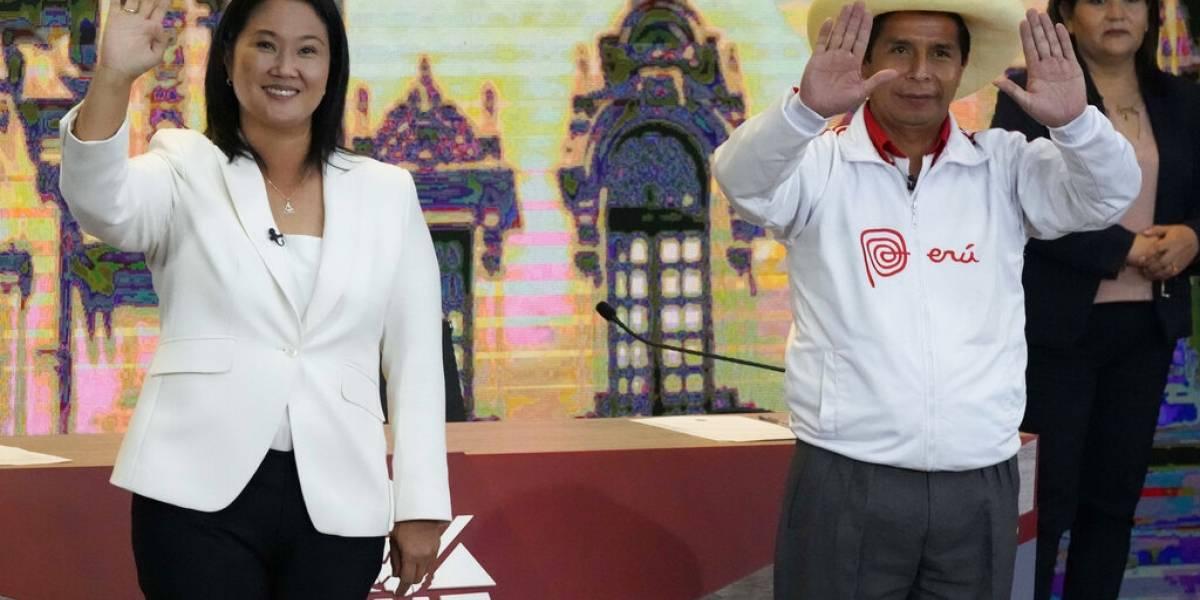 Elecciones en Perú: menos de 100 mil votos separan a Keiko Fujimori de Pedro Castillo