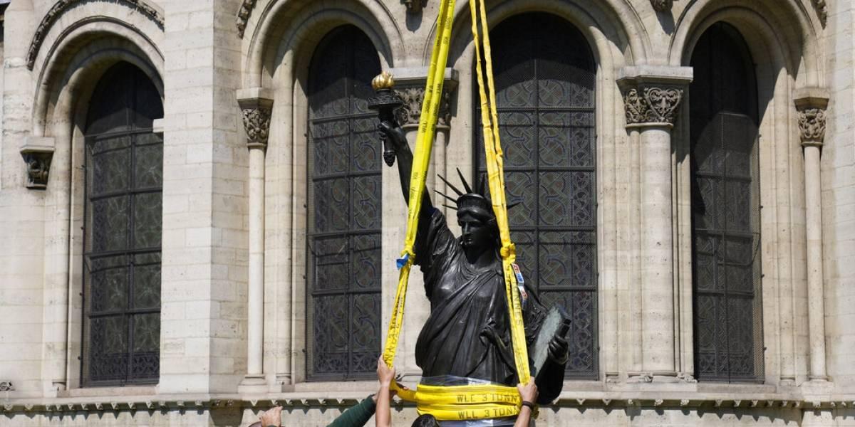 Francia envía a EE. UU. réplica de la Estatua de la Libertad