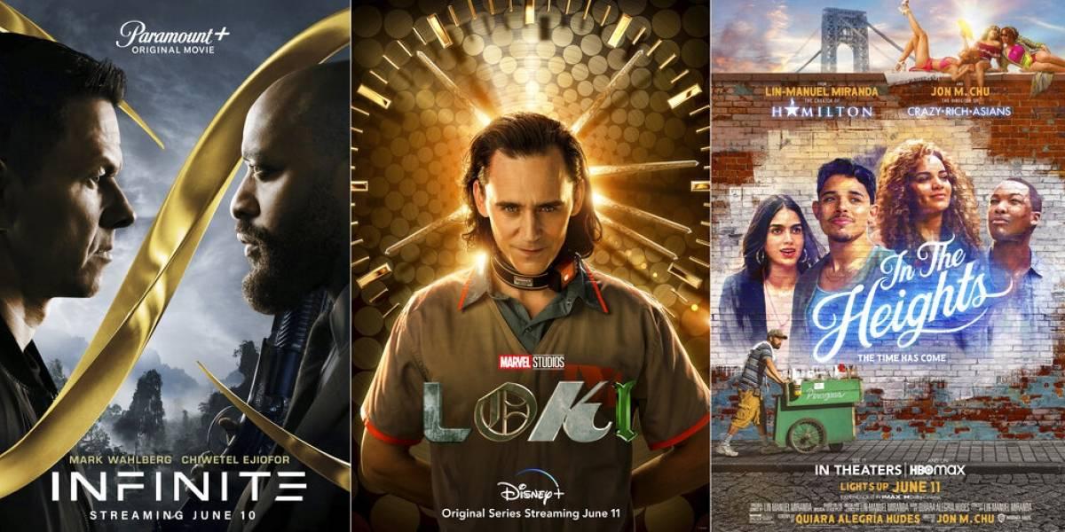 """""""In the Heights"""" y """"Loki"""" encabezan los estrenos de esta semana"""