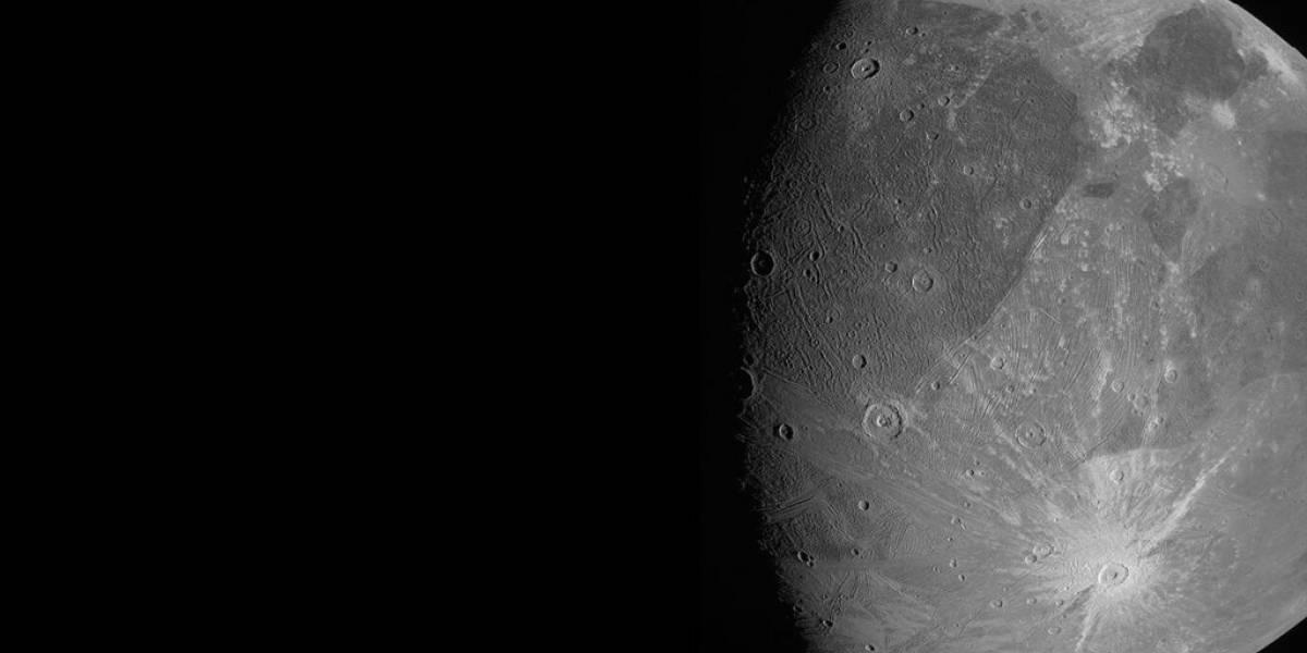 Sonda Juno se acerca y toma fotos de la luna más grande de Júpiter