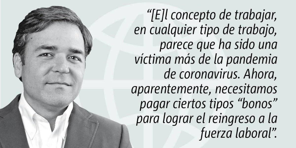 Opinión de Alejandro Figueroa: El pagar por el regreso al trabajo