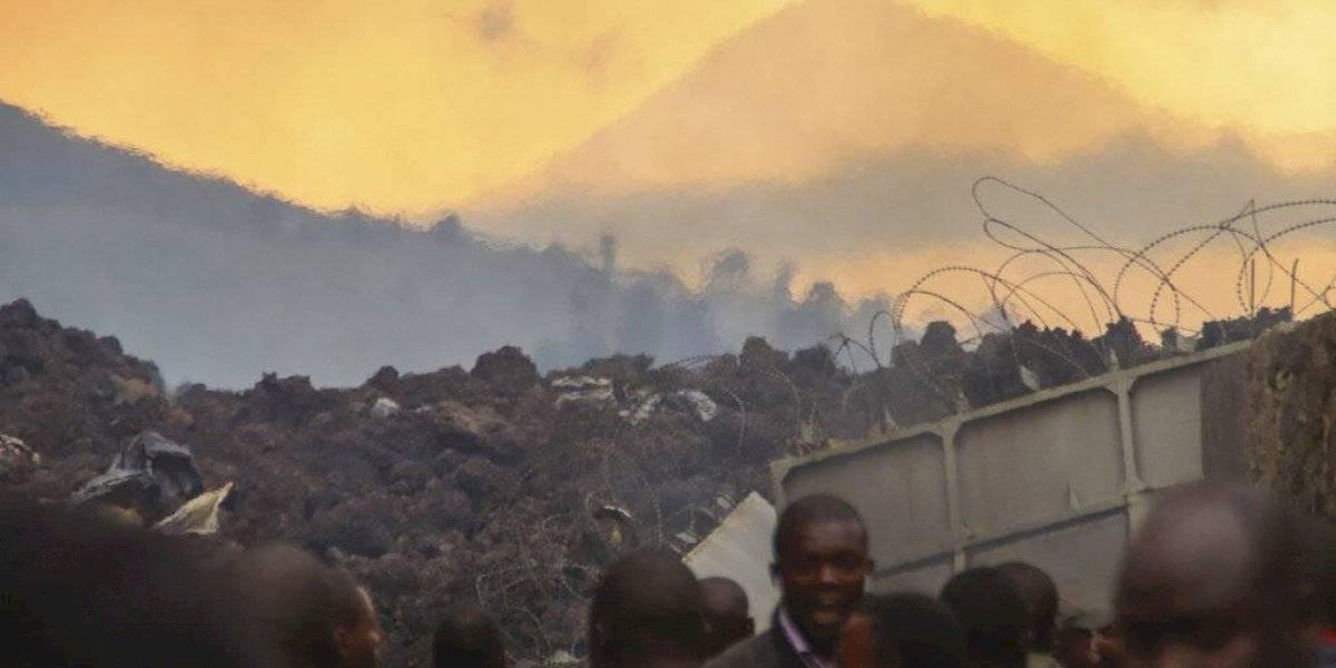 Habitantes en Congo regresan tras erupción de volcán