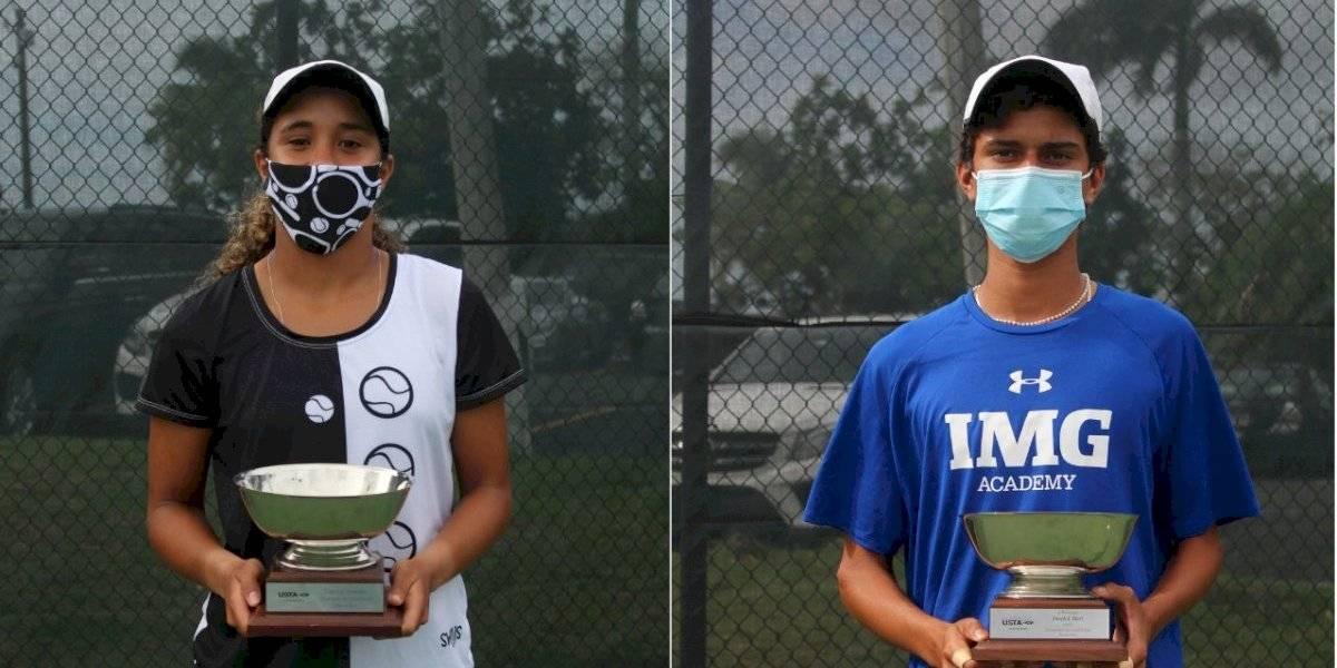 Tenistas juveniles se prueban en campeonato seccional